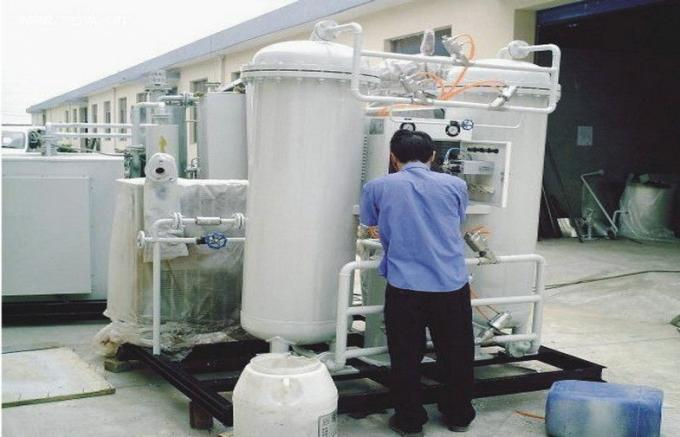 China Skid Mounted PSA Air Separation Unit , High Purity Liquid ASU Plant suppliers