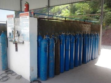 چین Liquid Air Gas Separation Plant ,  Skid-mounted Oxygen Plant Filling Cylinder Decive تامین کننده